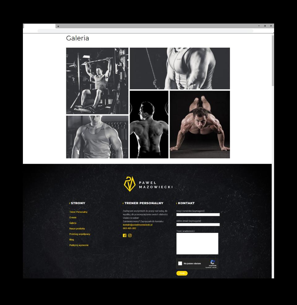 strona www galeria