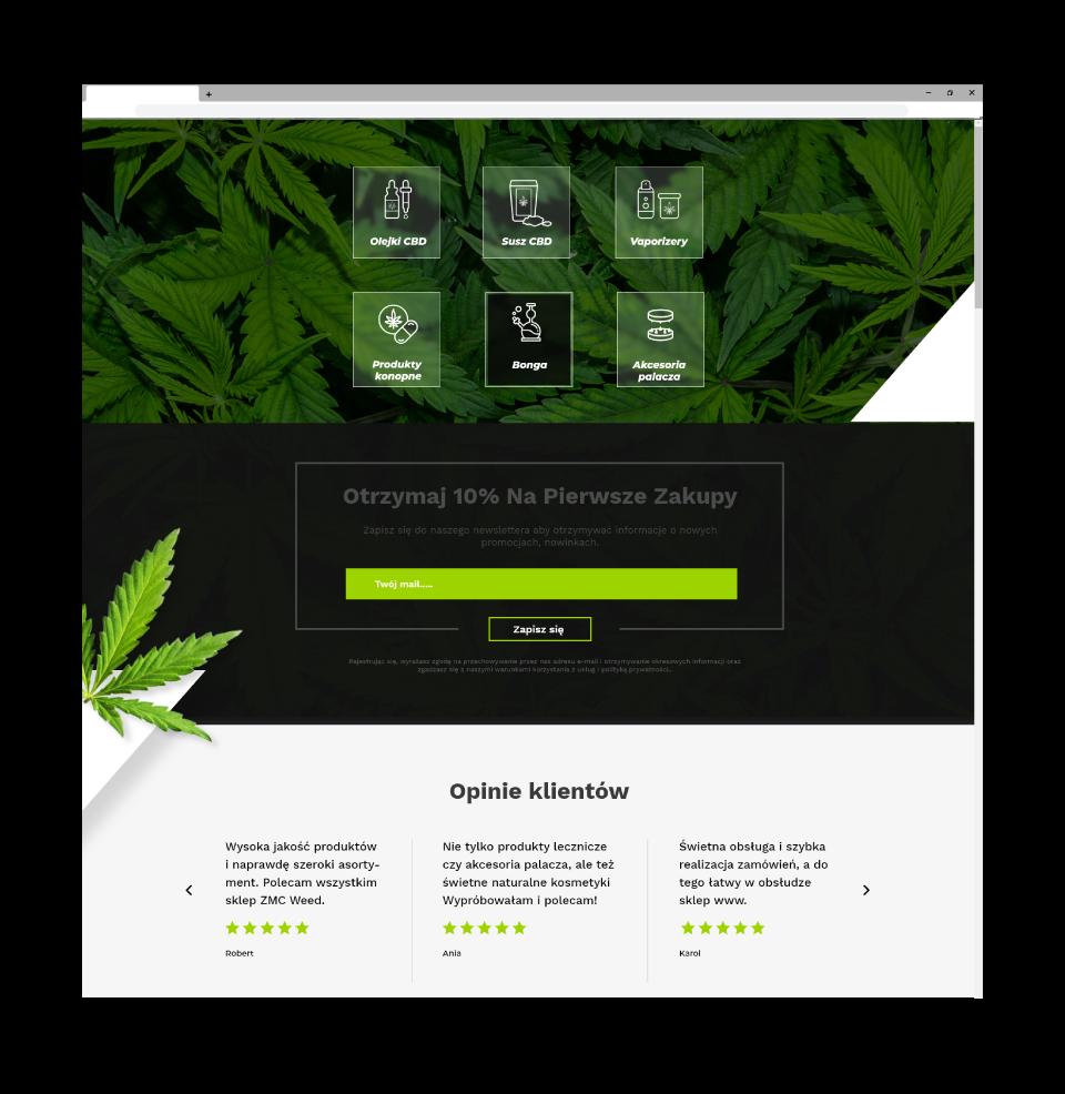 strona www sklep internetowy